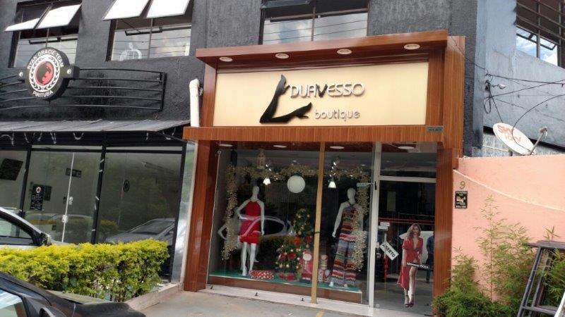 Fachada lojas comerciais