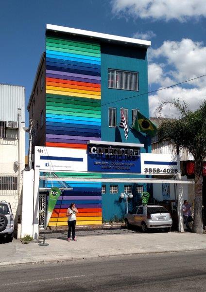 Acm fachada de loja